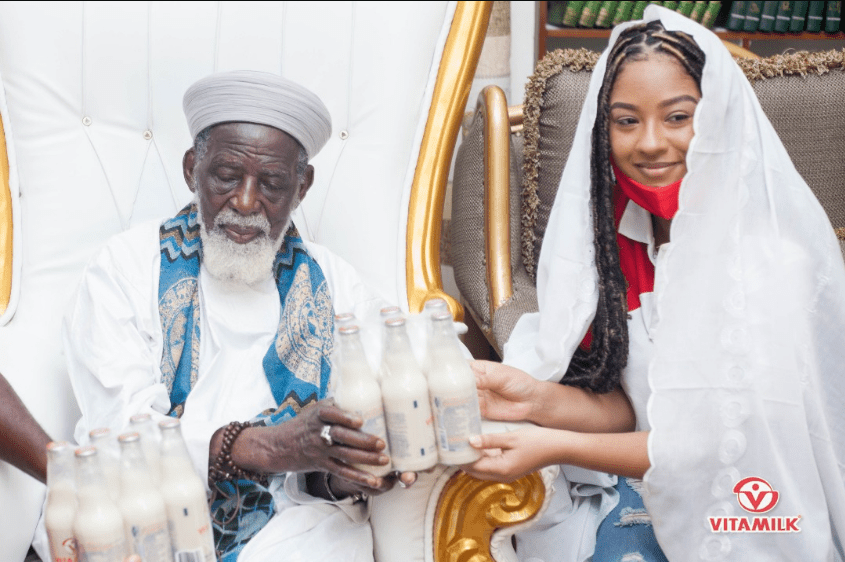 Vitamilk Ghana supports Eid-Ul-Fitr celebration; donates items to Chief Imam