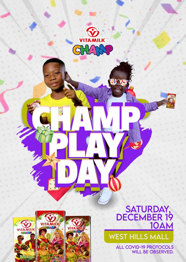 Maiden Vitamilk Champ Play Day slated for December, 19